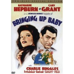 Bringing Up Baby (1938) starring Cary Grant and Katherine Hepburn