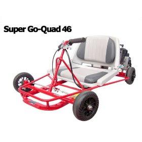 Go-Ped Super Go Quad 46 Gas Powered Mini-Kart (Red)