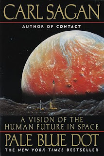 Pale Blue Dot: A Vision of the Human Future in Space, by Carl Sagan (1994)