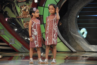Afsha & her identical Laado on Zee TV Lil Champs
