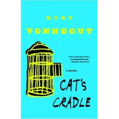 Cat's Cradle by Kurt Vonnegut, published in 1963