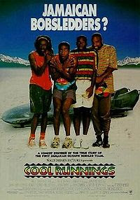 Cool Runnings - Underdogs go (released in 1993), comedy movie