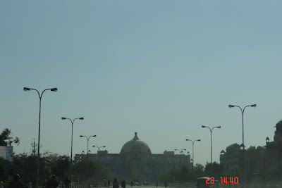 Photo of a view of the Rajasthan legislature building