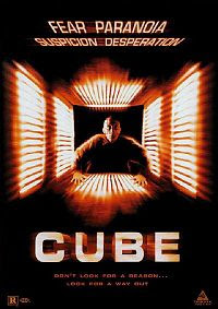 Cube (The Film) released in 1997, now a cult classic
