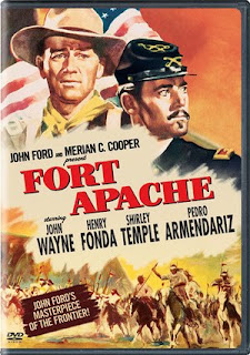 Fort Apache (released in 1948) starring John Wayne and Henry Fonda - the prejudices between the White and the American Indians
