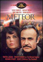 Meteor (released in 1979) - a disaster movie about a meteor and efforts to evade it - starring Sean Connery and Natalie Wood