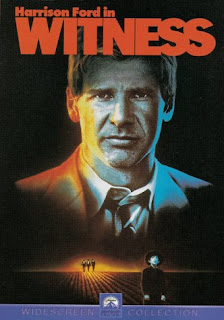 Witness (released in 1985) - Starring Harrison Ford and Kelly McGillis, protecting a young witness