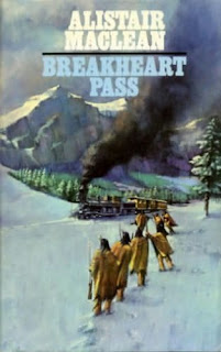 Breakheart pass (published in 1974) - Written by author Alistair Maclean, a western story set in Nevada in the late 19th century