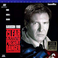 Clear and Present Danger (1994) - Starring Harrison Ford and Anne Archer, a fight against the drug scene