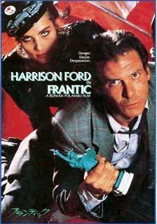 Frantic (released in 1988) - starring Harrison Ford, and directed by Roman Polanski