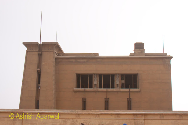 Cairo Pyramids - A small museum located near the Great Pyramid