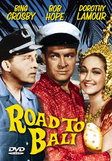 Road to Bali (released in 1952) - starring Bing Crosby, Bob Hope and Dorothy Lamour