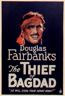 The Thief of Baghdad (released in 1924) - starring Douglas Fairbanks and Anna May Wong