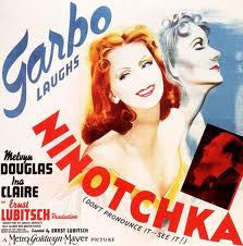 Ninotchka (released in 1939) - A comedy starring Greta Garbo and Melvyn Douglas