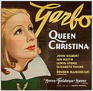 Queen Christina (released in 1933) - Starring Greta Garbo, John Gilbert, Ian Keith and Lewis Stone