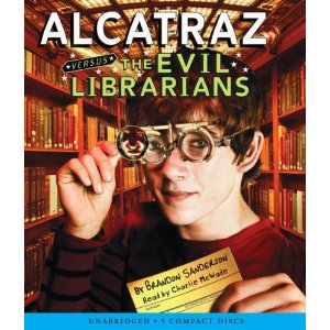 Alcatraz Versus the Evil Librarians (published in 2007) - a juvenile fiction novel by Brandon Sanderson