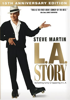 LA Story (released in 1991) - Starring Steve Martin, Victoria Tennant and Sarah Jessica Parker