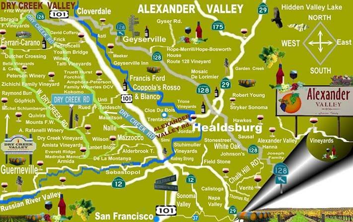 Schiller Wine The Excellent Wines Of Alexander Valley