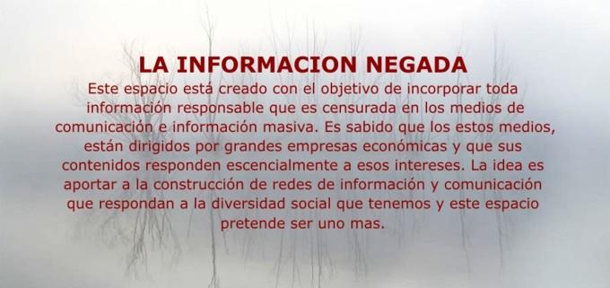 La Información Negada