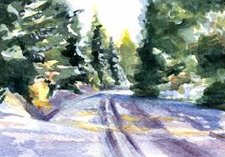 Winter Snowfall-Nancy Van Blaricom