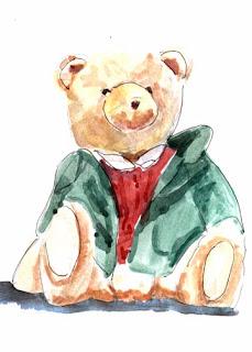 Holiday Bear-Nancy Van Blaricom
