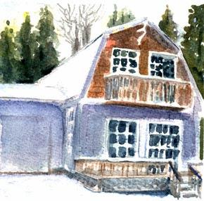 Near Chesapeake and Lagoone-Nancy Van Blaricom
