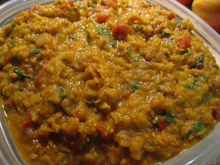 City Satiety: Everyday Red Lentil Dal Recipe