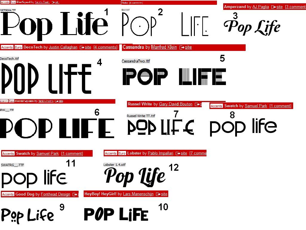 1B:Phoebe Hindle: Magazine fonts.