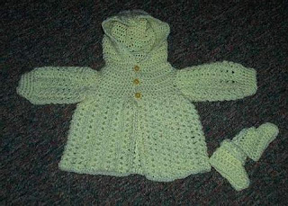Baby, Toddler and Children Sweaters and Ponchos, Hand Crocheted