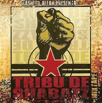 Rasshed Allah Tribu de Shabbaz Mixtape Portada Cover