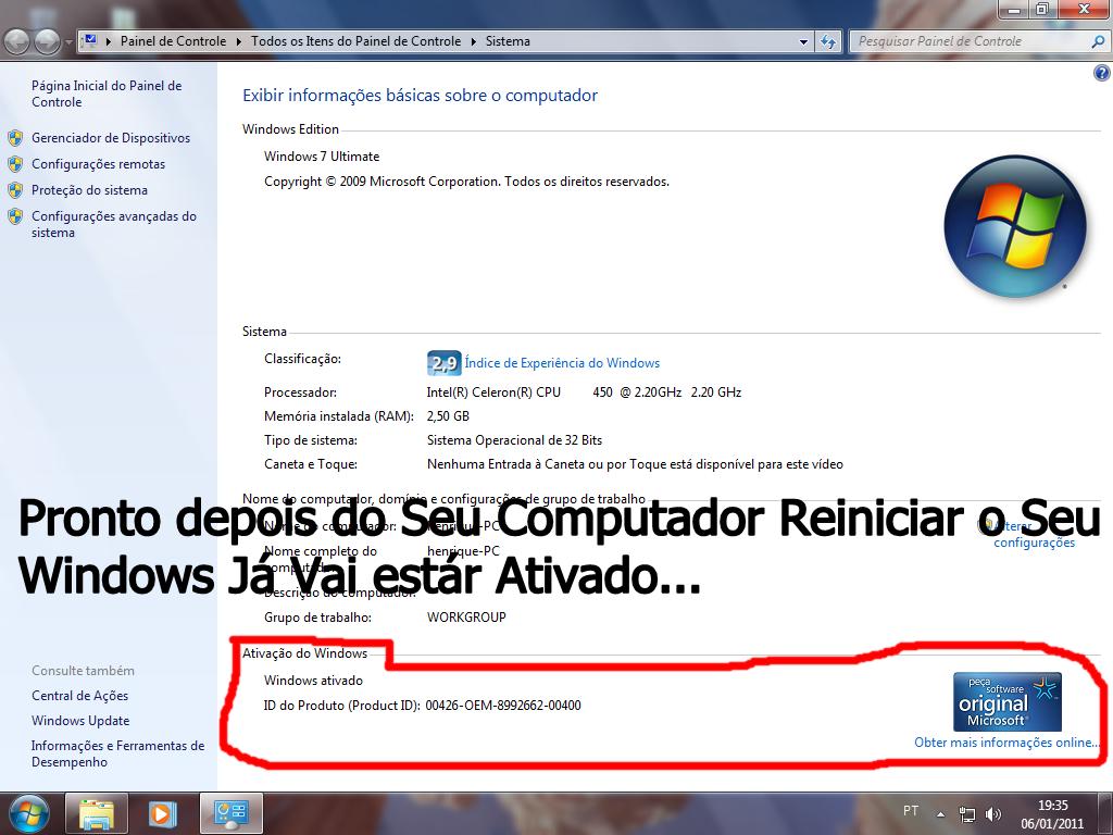 Ativador Windows - Esse ativador funciona mesmo