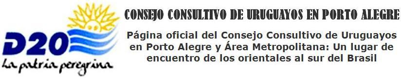 CONSEJO CONSULTIVO DE URUGUAYOS EN PORTO ALEGRE