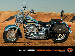 Harley-Davidson FLSTC Heritage Softail Classic 2C 2007 Wallpaper