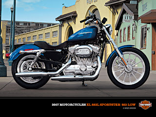Harley-Davidson XL-883 Sportster 883 Low 2007