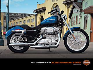 Harley-Davidson XL-883 Sportster 883 Low 2007