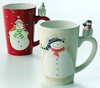 Oneida Snowmate Latte Mugs