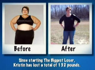 Kristin Steede's before and after pics