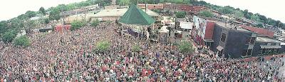 Kris Allen Concert in Simon Park, Conway, Arkansas