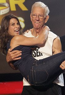 Jerry Hayes and Jillian Michaels