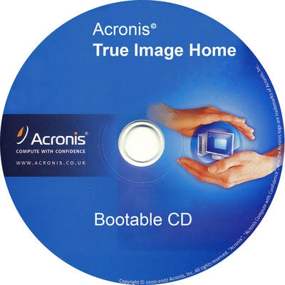 how to open acronis true image