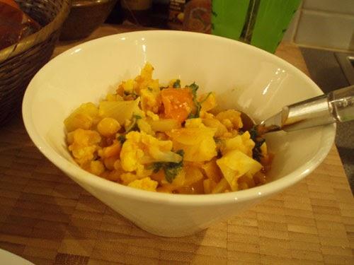 kikherne curry