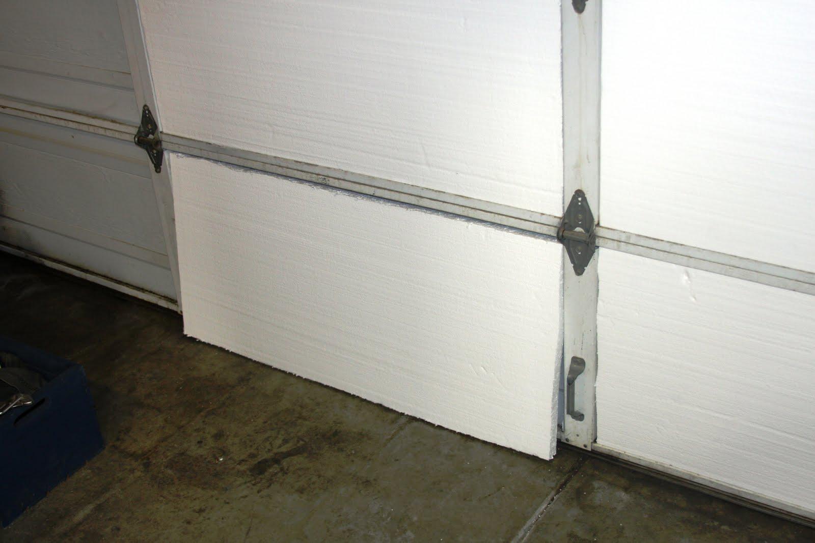Garage door insulation for Door insulation