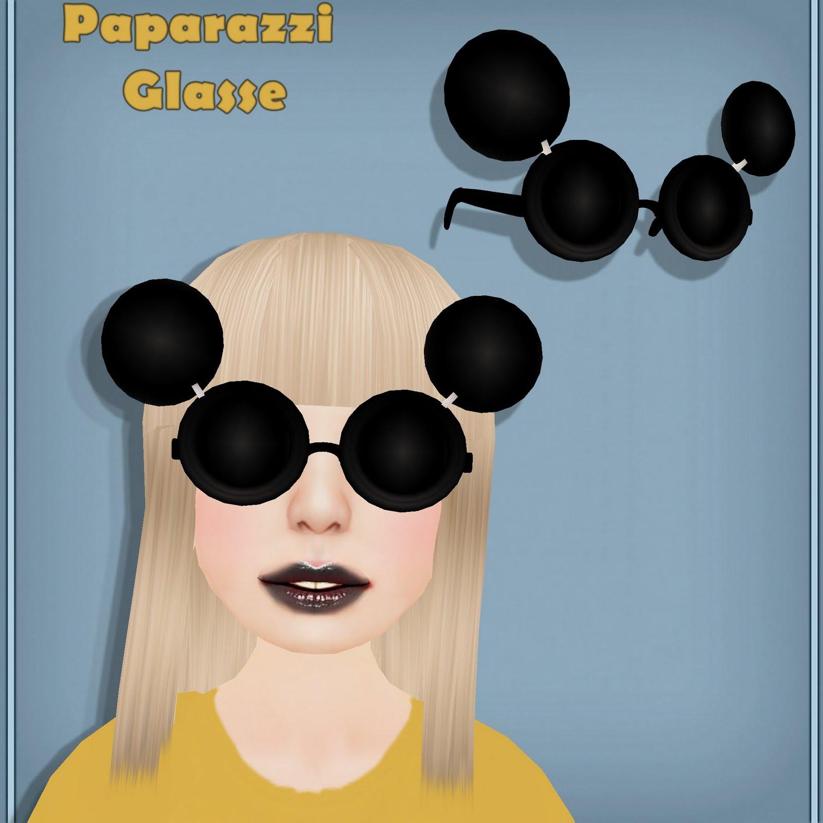 Lady Gaga Glasses - Paparazzi