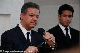 Leonel y su hijo Omar