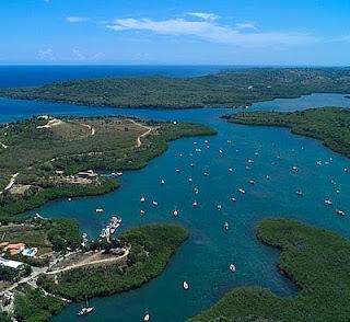 Hermosa,la bahia de Luperon en puerto Plata