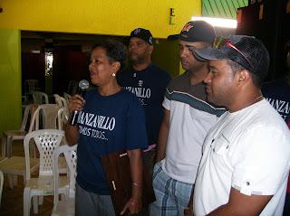 Milagros Mieses agradece la dedicatoria del torneo a la Liga Manzanillera