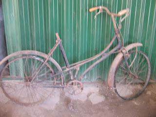 rangka sepeda antik