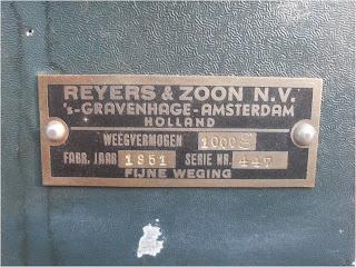 REYERS & ZOON N.V.
