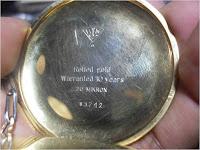Koleksi Arloji saku Lapis emas