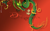 Lunar Zodiac Dragon Wallpaper Chinese